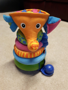 Tiny Love Musical Stack and Ball Game, Orange Elephant $15