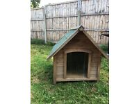 Wooden Dog Kennel House