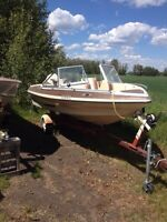 1982 open bow 115 Johnson outboard