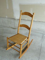 Antique 3/4-Scale Rocking Chair - Hand Made