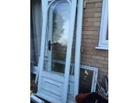 Free glass, hardwood doors and guttering