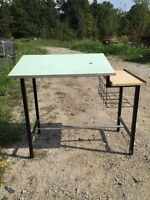 Desk- drafting table?