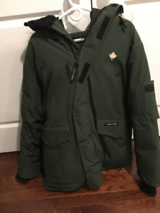 Canada Goose Heli Arctic Parka - Mens Large, Green, Like New