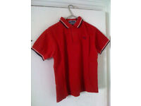 Fred Perry polo shirt (Size 10 XS)