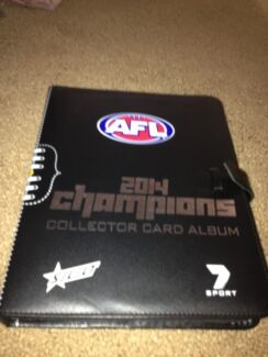 2014 Afl select champions footy cards Wembley Downs Stirling Area