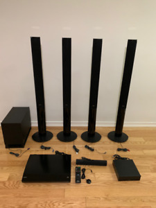 Sony 5.1 Home Theatre system with BluRay Player and 6 Speakers