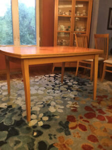 IKEA Extendable Dining Table and Cabinets