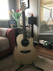 Acoustic/Electric Ovation Guitar/amp Combo