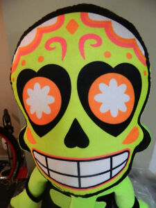 ** Oversized Skeleton/Day of the Dead Stuffed Toy **