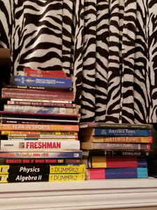 Various Books (Novels/For Dummies/Graphic Novels/Children's)