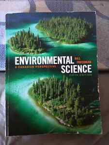 Environmental Science A Canadian Perspective, 5th edition