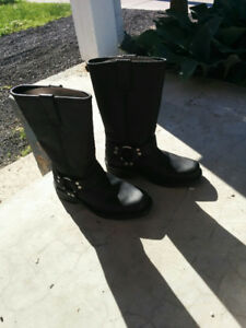Ladies Motorcycle Boots Size 8