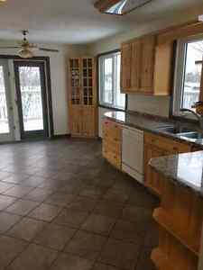 Acreage with house and garage and 3 acres