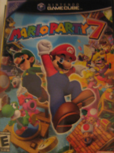 Mario Party 7 Gamecube  game with manual