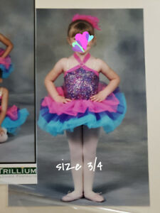Girls size small /  toddler dance costumes jazz, tap, ballet
