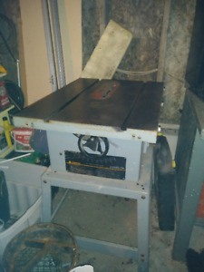 """FOR SALE - Delta 10"""" Contractors Table Saw"""