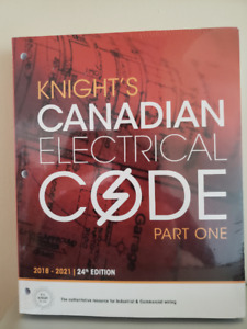 KNIGHT'S CANADIAN ELECTRICAL CODE Part One *NEW