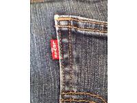 Levi's jeans rate 510 series, skinny jeans denim blue 32 waist 30 leg