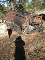 Need Old Oil Tanker Removed