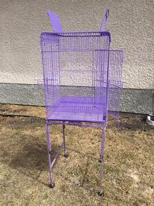 Purple Bird Cage (can also be used for rats!)