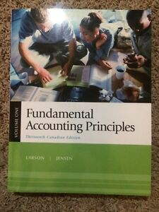Fundamental Accounting Principles - 13th Can Edition - Volume 1