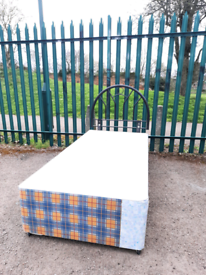 Single bed base with storage (delivery available