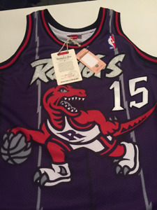 Mitchell and Ness Vince Carter 1998-99 Authentic Jersey Toronto