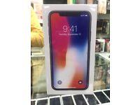 Iphone X 64GB Brand New Sealed Unlocked