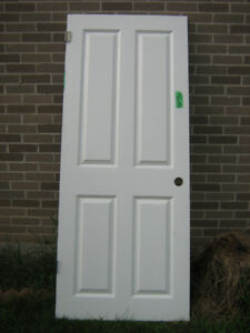 Interior door 6 panel insulated 31 3/4 X 77 1/4