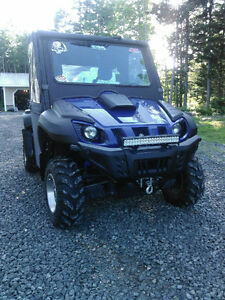 yamaha rhino excellent cond reason for selling bought new one