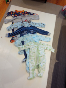 Baby clothes bundle with onesies, pants, bodysuits - 3-6 months