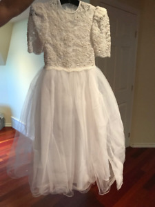 Girl's communion dress