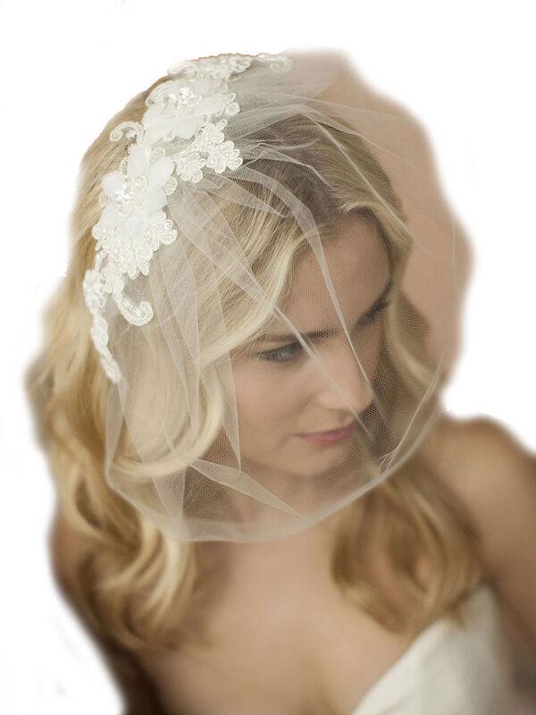 Lace Blusher Veil