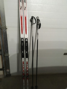 Cross Country Ski's, Poles and boots