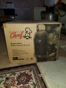 Brand new master chef portable propane stoves
