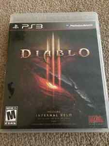 DIABLO 3 AND FIFA15 FOR PS3 LIKE NEW!!
