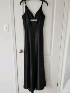 Ladies Long Black Dress