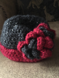One of a kind custom crochet winter hat.