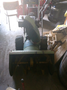 Baycrest snowblower - functions, but needs TLC