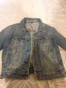 Barely worn American Eagle jean jacket