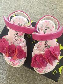 Size 4 infant sandals