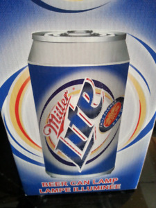 BAR LIGHT BEER CAN MILLER LITE