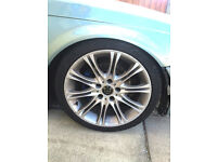 """BMW, M-SPORT ALLOYS, 18"""" with tyres"""