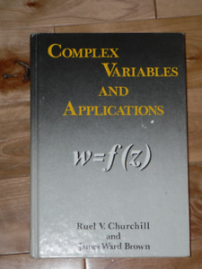 MATH - COMPLEXE VARIABLES AND APPLICATIONS
