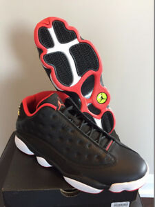 DS Brand New Air Jordan 13 Bred Low sz 11 w/receipt