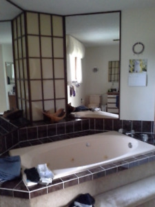Jacuzzi Tub with Motor