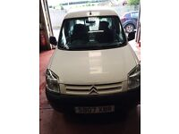 07 Citroen Berlingo 1.6 HDi 600 Enterprise van full years MOT full electrics transit connect partner