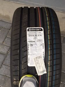 275/35ZR30 Continetal Extreme Contact DW