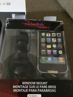 WINDOW DASH MOUNT FOR IPHONE  ~ NEW  NEVER USED!