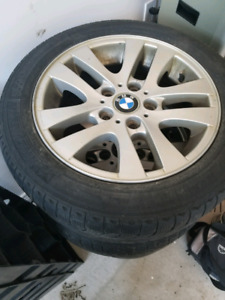 Bmw Winter tires on OEM rims 205/ 55R 16